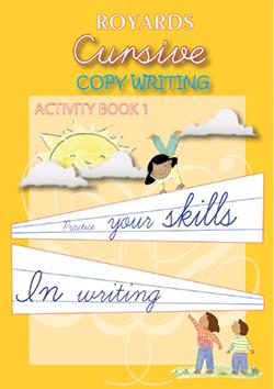 Cursive copywriting Activity Book 1
